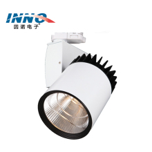 Energy Saving housing black cover commercial spot light dimmable 30w cob led track light