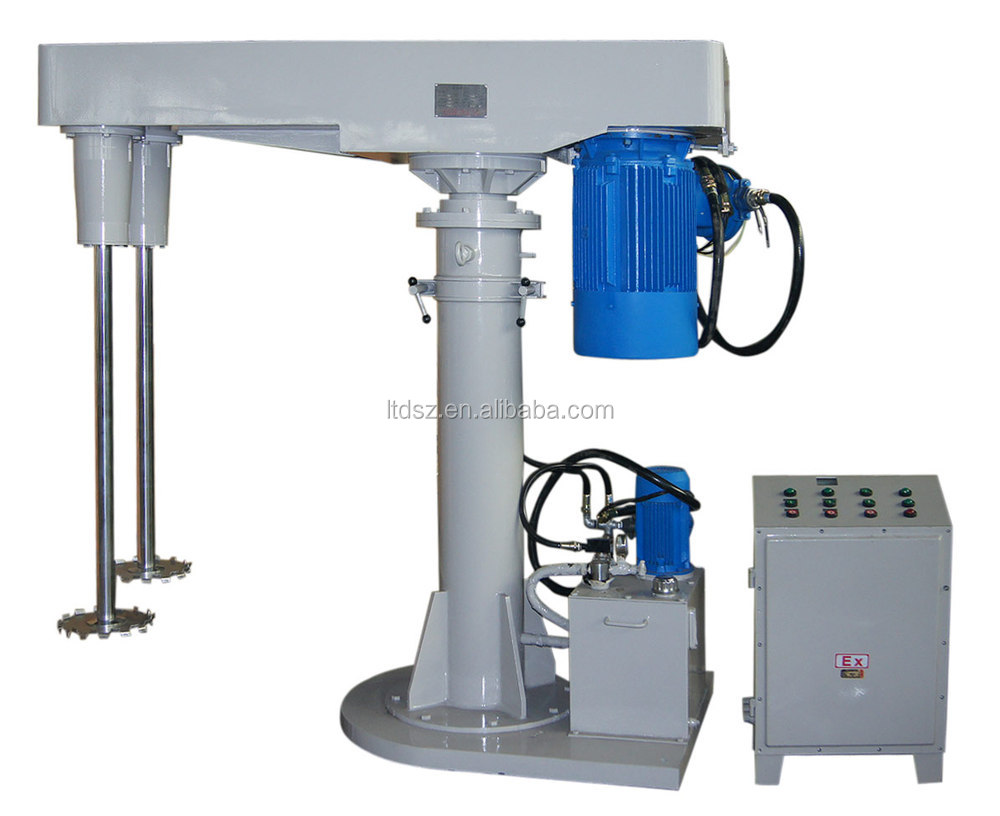 FS22kw fully explosion proof chemical double shaft disperser
