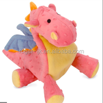 ICTI Create Your Own CE EN71 Plush Toy Fashion Custom plush baby dragon