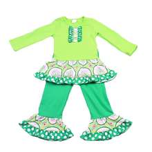 2015 fashion spring fall baby clothing albimini newstyle clothing manufacturers india lovely ruffle guangzhou baby clothes