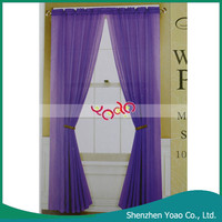 Made In China Purple Fancy Voile Curtain