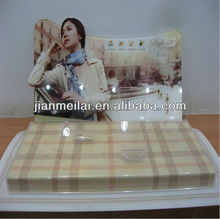 2012 Hot Selling Acrylic Mobile Countertop Display