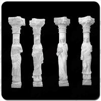 2015 high quality best selling limestone decorative column covers