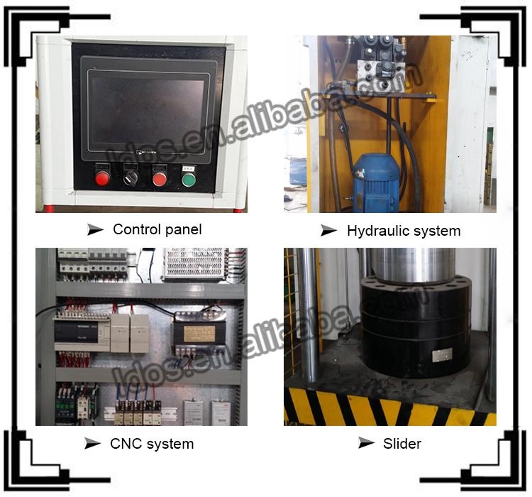 snap button press machine