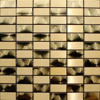 Foshan stainless steel mosaic tiles