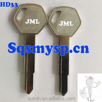 F306 Custom Motorcycle Car Key Blanks Hd33 Wholesale View