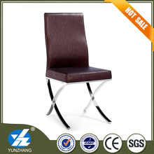 original leather and metal living chair