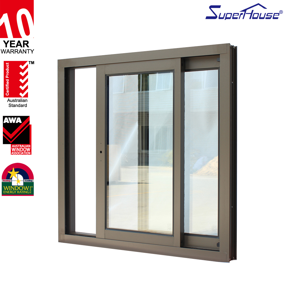 Superhouse Australia standard AS2047 commercial sliding glass reception window for sale