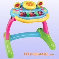 Multi-function musical baby learning desk & walker
