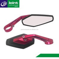 Custom Rear View Mirror Motorcycle Side View Convex Mirror Motorcycle Bar End Mirror