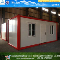 floating prefab container house for sale/prefabricated contianer homes with sandwich panel