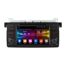 2 din android 6.0 car dvd player for bmw 3 series e46 Built-in WIFI 4G LTE DAB+ for bmw e46 car dvd player with gps (enco-b146)