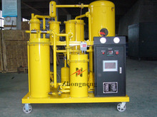 PLC Mounted Hydraulic Oil Dehydrator/Lube Oil Treatment Machine