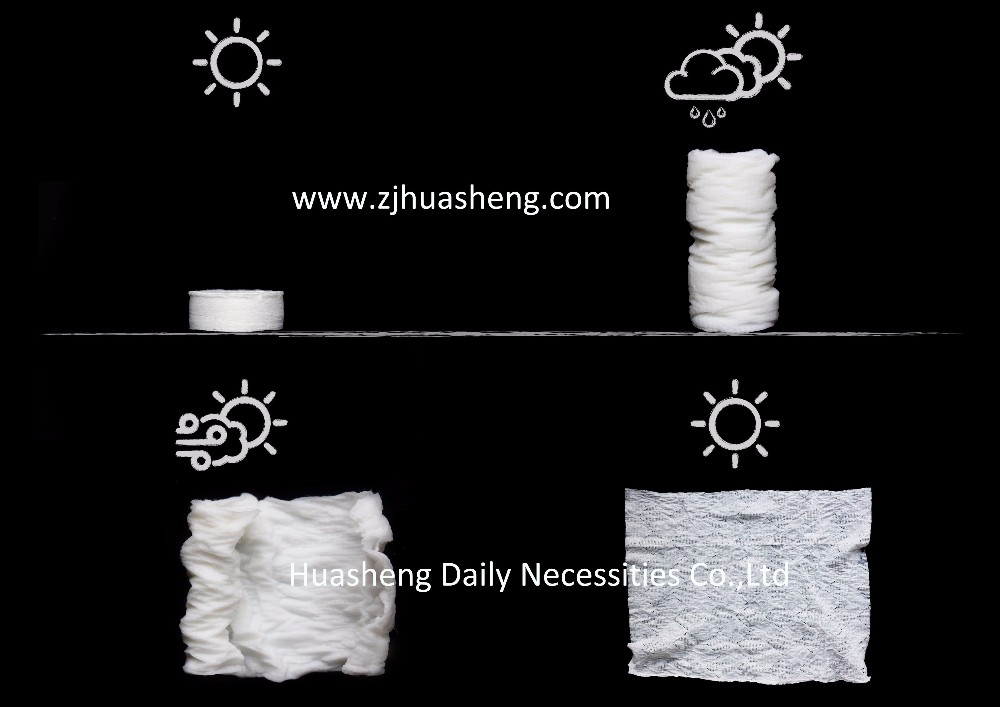 factory wholesale china supplier mini coin tablet cotton custom compressed towels magic towel