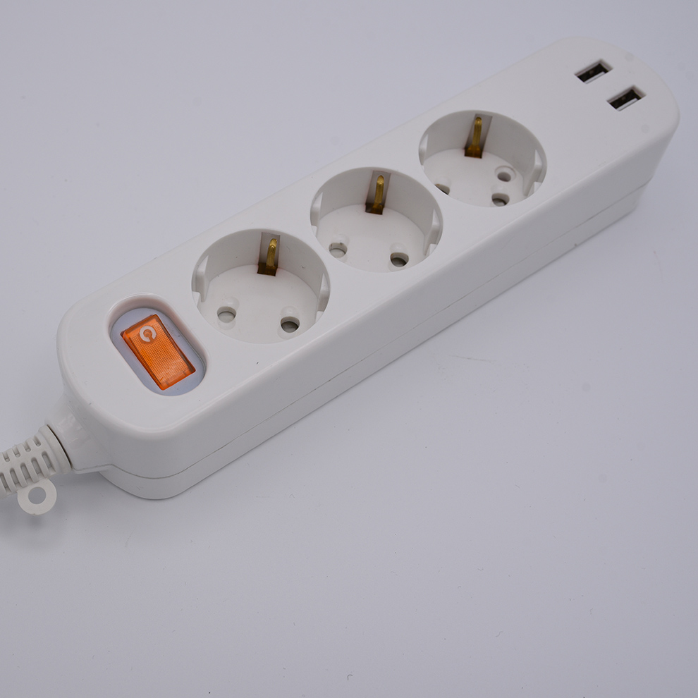 vde power cord factory micro usb socket