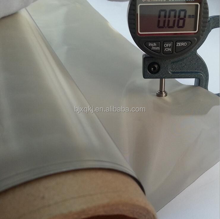 transparent shielding conductive fabric for cell phone covers and bag lining
