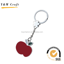 Fashion metal custom key ring brass key chain guangzhou