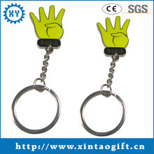 Creative gifts item finger engraved metal keychains