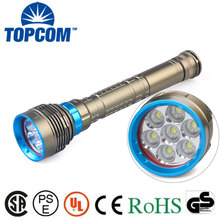 Underwater 7000LM 7x XM-L2 LED Scuba Diving Flashlight Torch Lamp Light