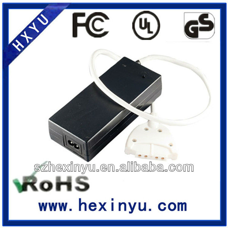 Certification approved 12v 7a 84w adapter