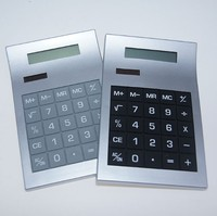 Best selling business solar 8 digital plastic calculator for promotion gift