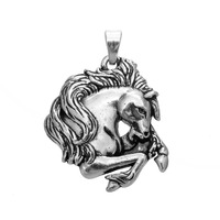 Animals Horse Head Charms Pendants for Jewelry Making DIY Handmade