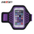 HAISSKY universal sweatproof cell phone armband Best gym and sport cellphone armband for running, biking, jogging