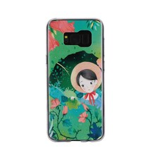 TPU back case cover cartoon anti fingerprint cell phone case For for Samsung galaxy S8 plus