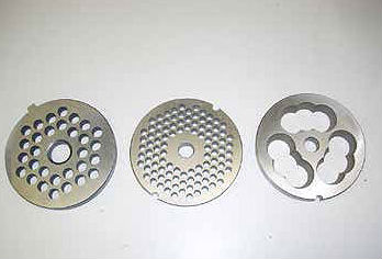 Tool for grinding machine for food industry blades