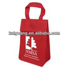 Promotional Waterproof Outdoor Non Woven Lunch Cooler Bag