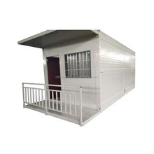 CE latest designed hydraulic system standard folding container house