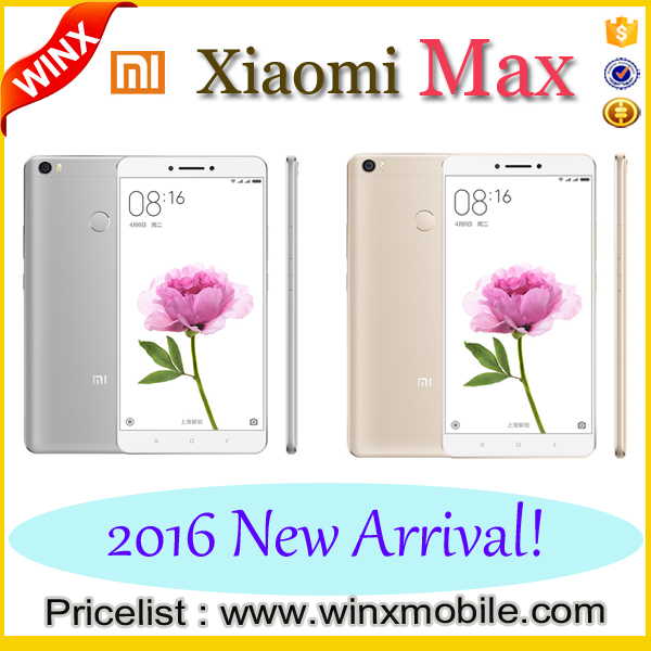 Newest!!Mobile phones for Original 6.44 inch Xiaomi MAX 4G Full CNC 3.0 celular touchscreen best price in Shenzhen Winx
