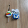silicone key head holder, cute pvc key cover