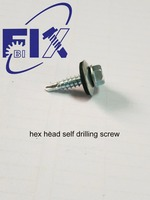 hex head screw with rubber washer5.5*22