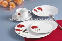 Home Design Super Quality Dinnerware Sets/Germany Dinner Set Porcelain/Chinese Supplier Restaurant Hotel Ceramic Tableware Set