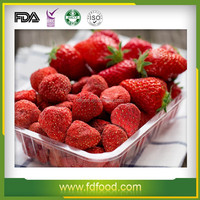 Hot Sale Freeze Dried Fruit Sweet Strawberries Natural Color