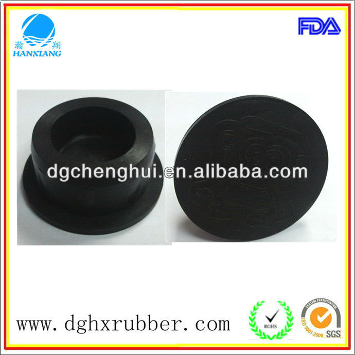 oxidizing solvents resistant rubber pipe plugs