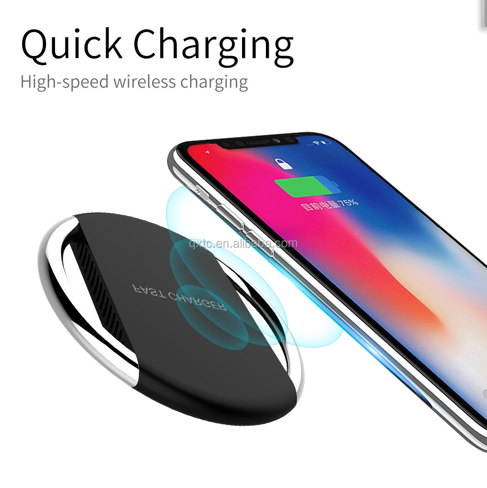 Natural wireless charger for samsung fast wireless charger qualcomm quick charge 3.0