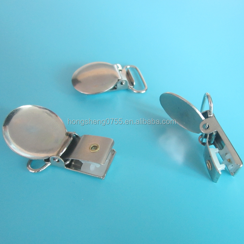 20mm Round Shape Metal Suspender Clips Wholesale