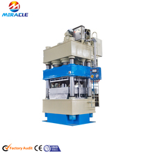 Hydraulic hot press wooden pallet/compressed wood pallet making machine from wood process line