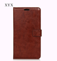 case cover for sony xperia z5 premium with oil edge crazy horse pu leather, mobile phone cover case for sony xperia z5 premium
