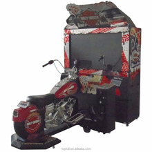 55 Inches Haley Davidson King of the Road Coin Operated Driving Car Amusement Game Machine For Sale