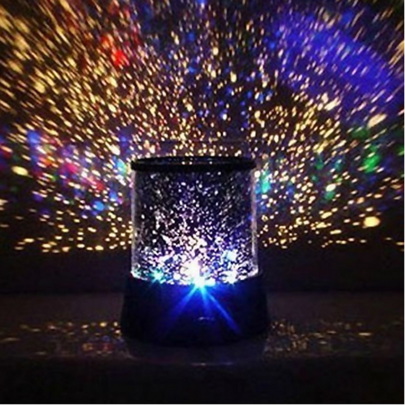 Beautiful Fantastic LED Star Master Sky Planet Projector Night Light Lamp
