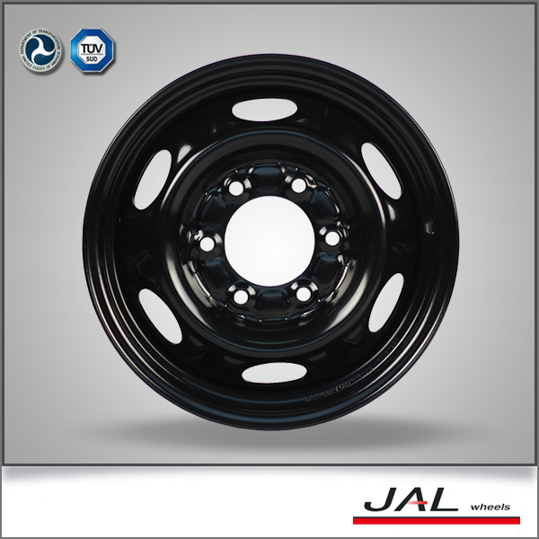 2016 Best Seller High Quality 6Jx15'' Black Car Steel Rims
