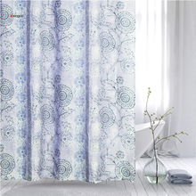 New design 100%polyester shower curtain