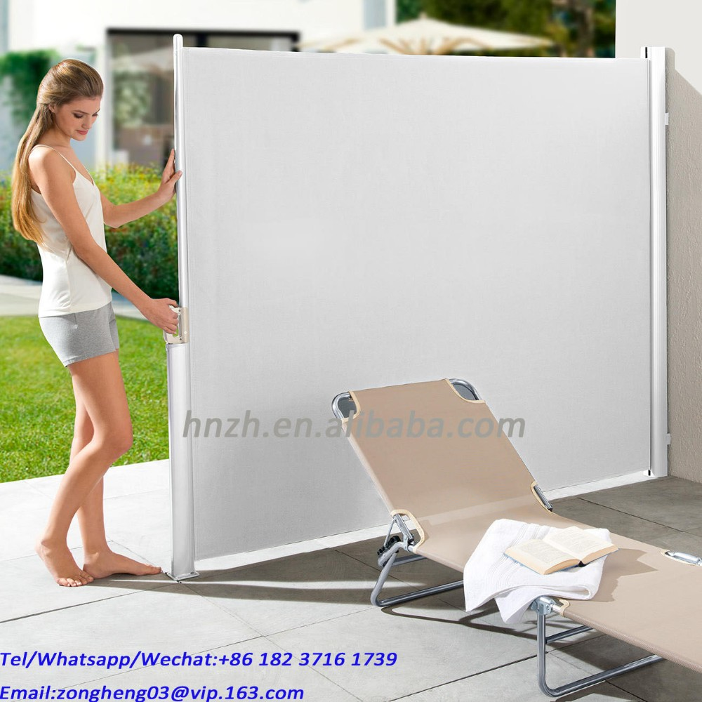 Wholesale Outdoor Side Awning blind screen blind awning
