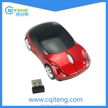 Brand Sports Race Car Mouse 2.4G Wireless Car Shape Wireless Mouse