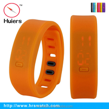 2015 new design touch screen LED silicone watch,women sports silicone watches