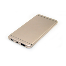 For iphone 6 mobile power bank ultra-thin metal power bank 6000mAh