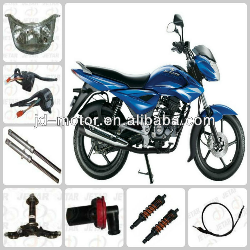 parts bajaj XCD125 plastic parts ABS /PP